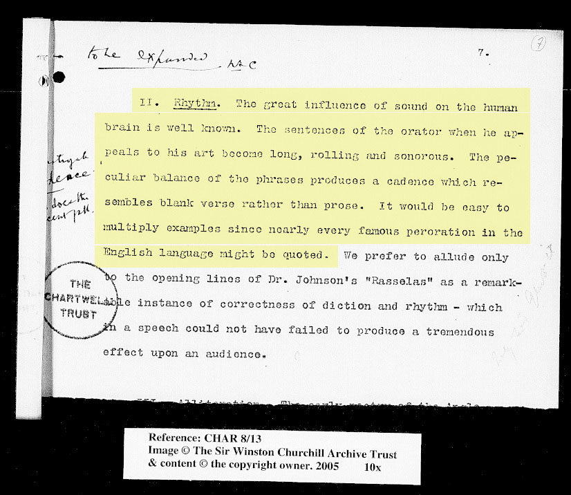 Source 1 - An unpublished pamphlet by Churchill called 'The