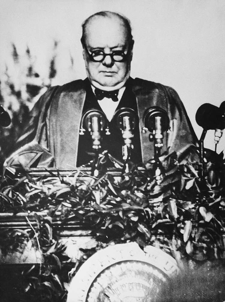 Churchill And The Cold War Why Did Make His Famous Iron Curtain Speech In 1946